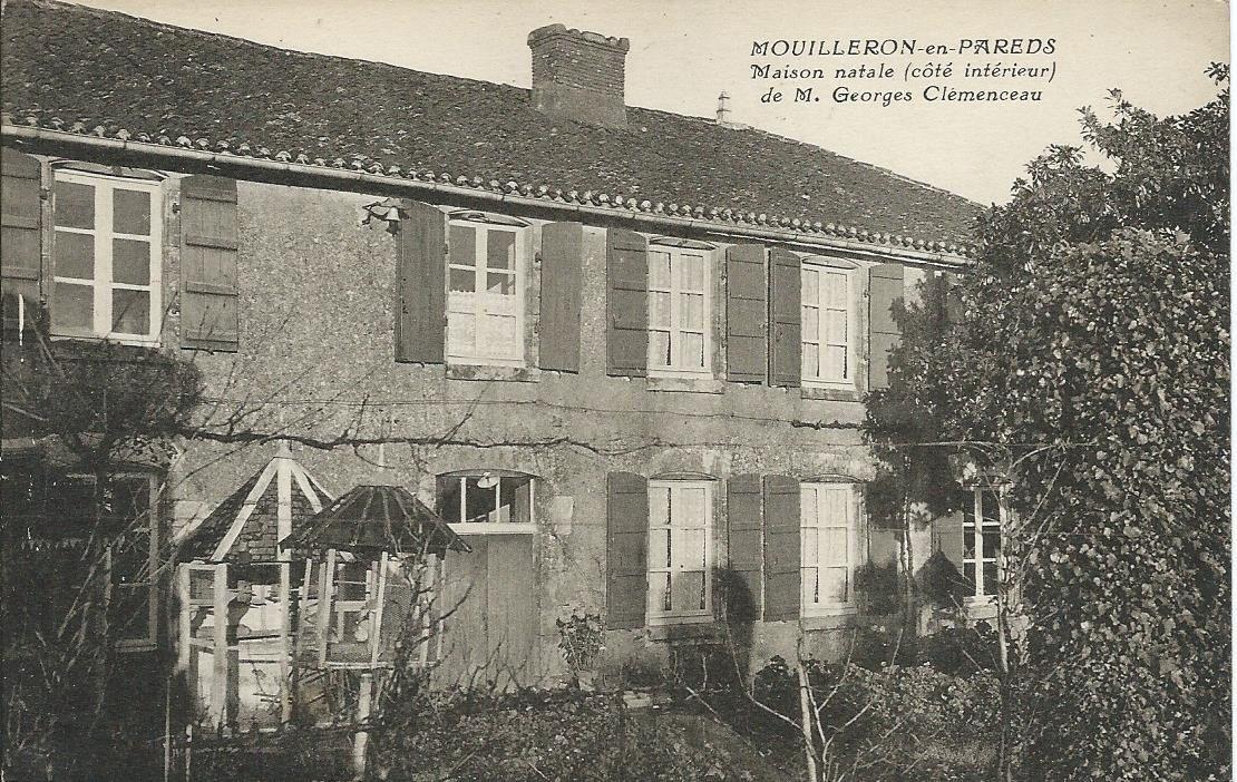 Maison natale de Georges Clemenceau à Mouilleron