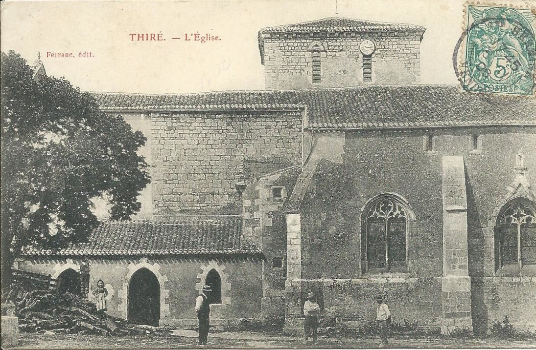 l'église de Thiré