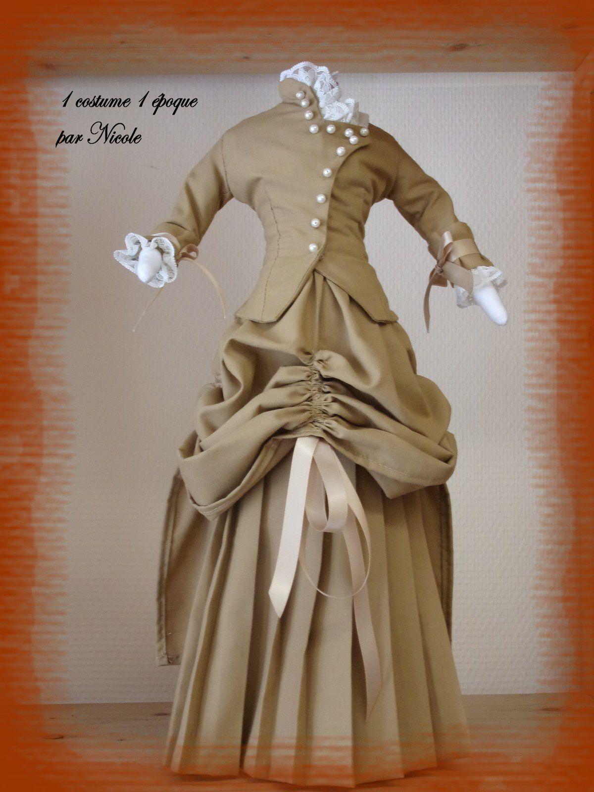 1 costume  pour 1 époque: 1879