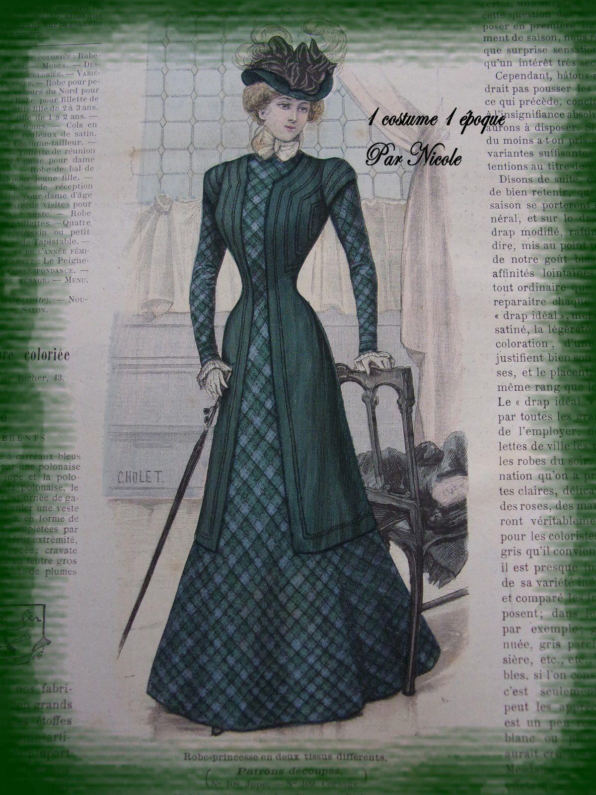 1 costume 1époque: l'automne 1898