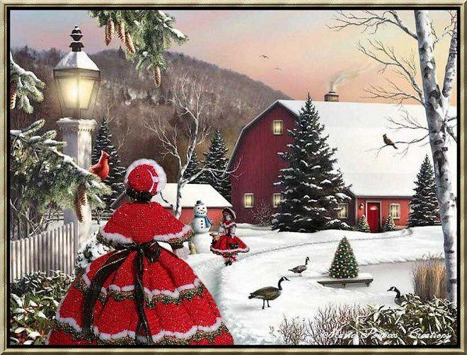 en attendant Noël par Marie