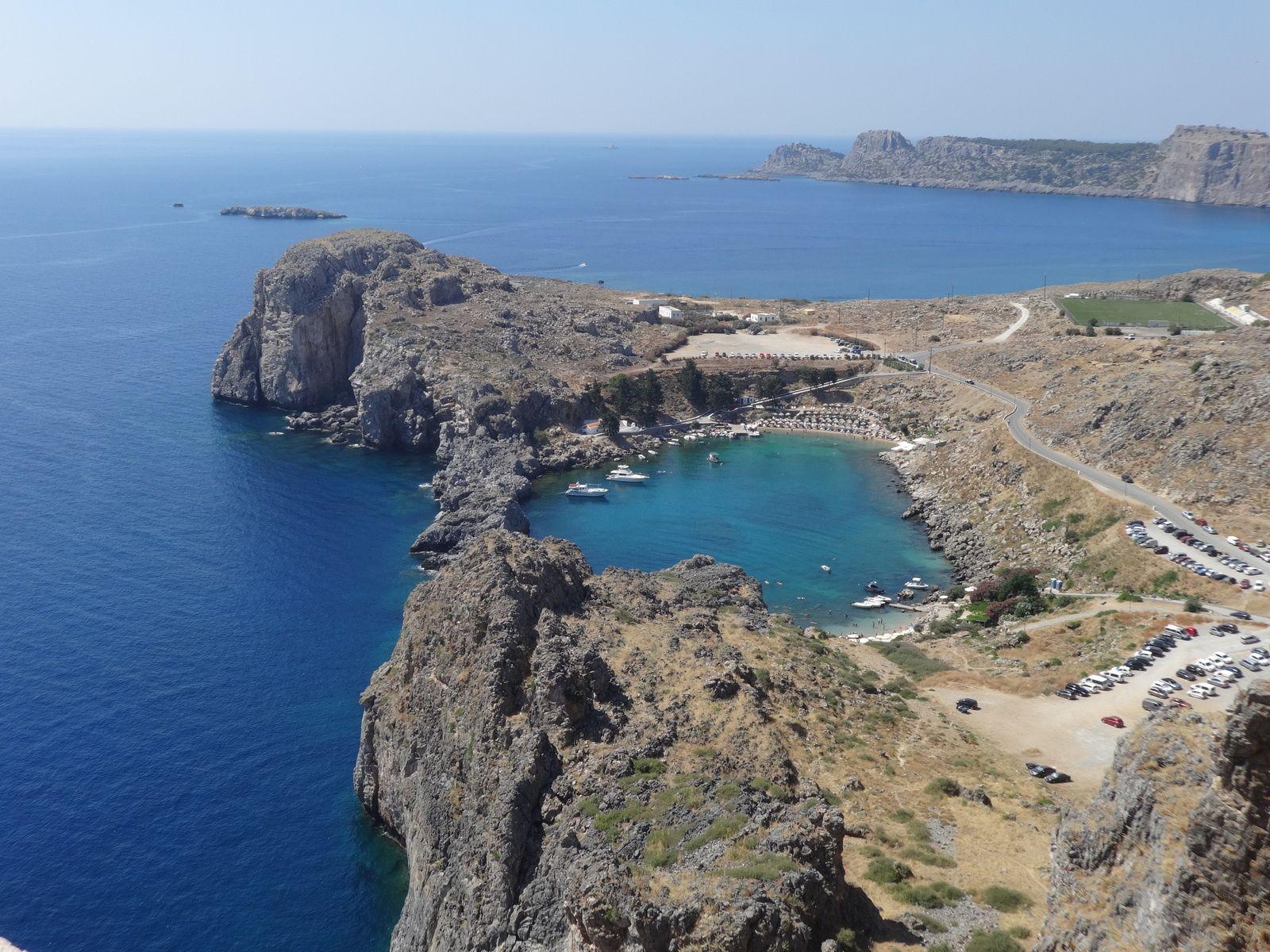 Ile de Rhodes - 2.b/ Lindos : l'acropole