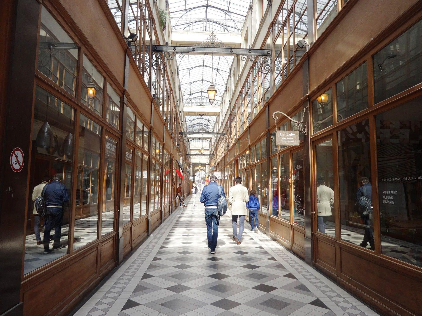 Un petit bijou parisien : le Passage couvert du Grand Cerf, dans le  2ème arrondissement