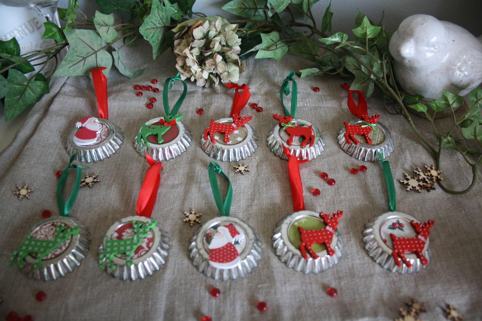 petites décorations et sucres d'orge...