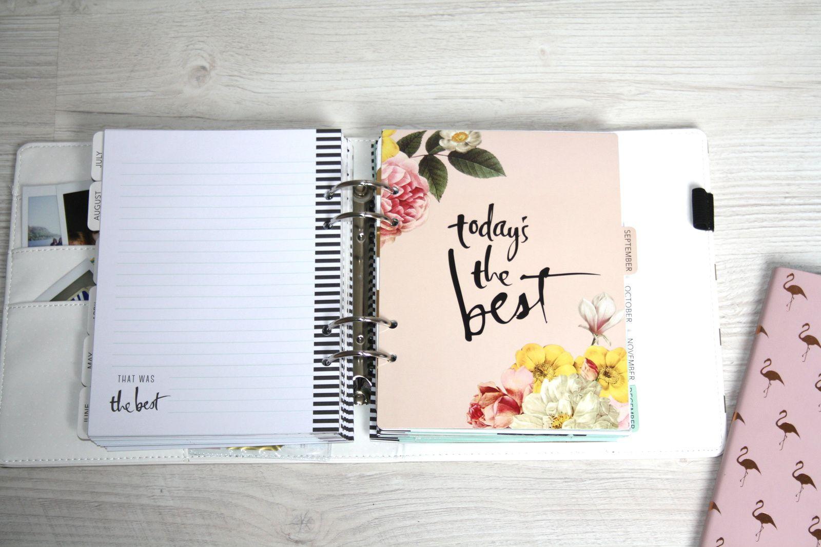 Memory planner - septembre 2016