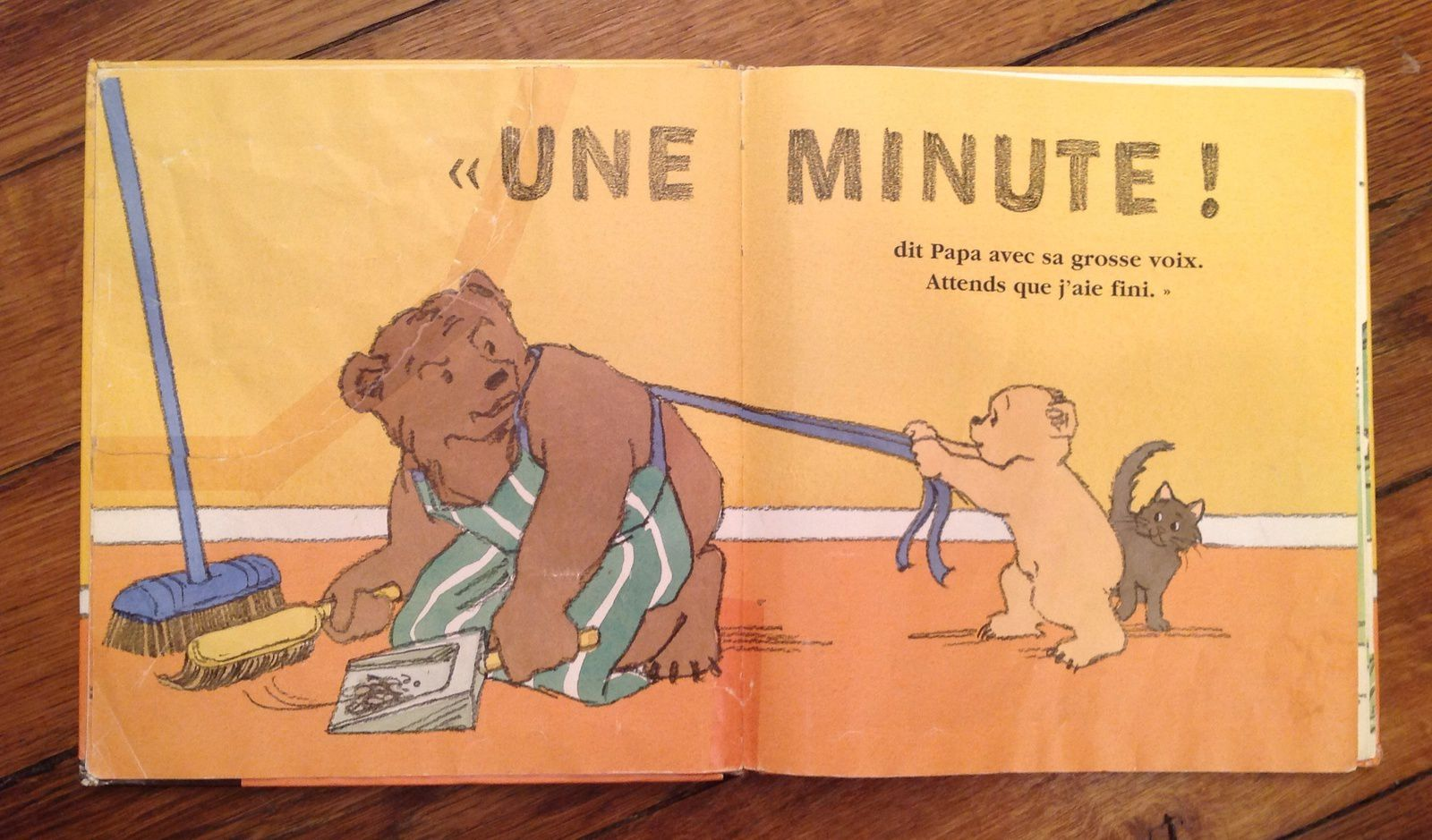 Une minute, Alfred ! de Virginia Miller