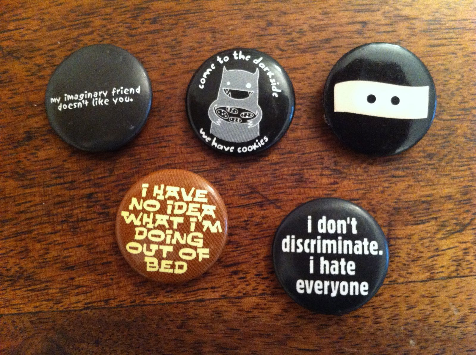 Ensemble de badges