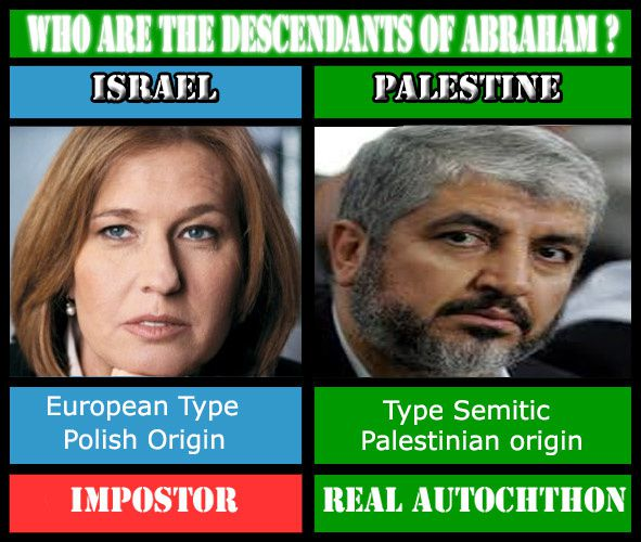 L'idéologie raciste sioniste frappe encore