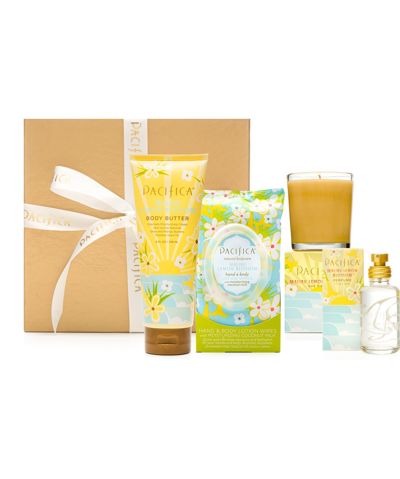 Mother's day gift set - Malibu lemon blossom
