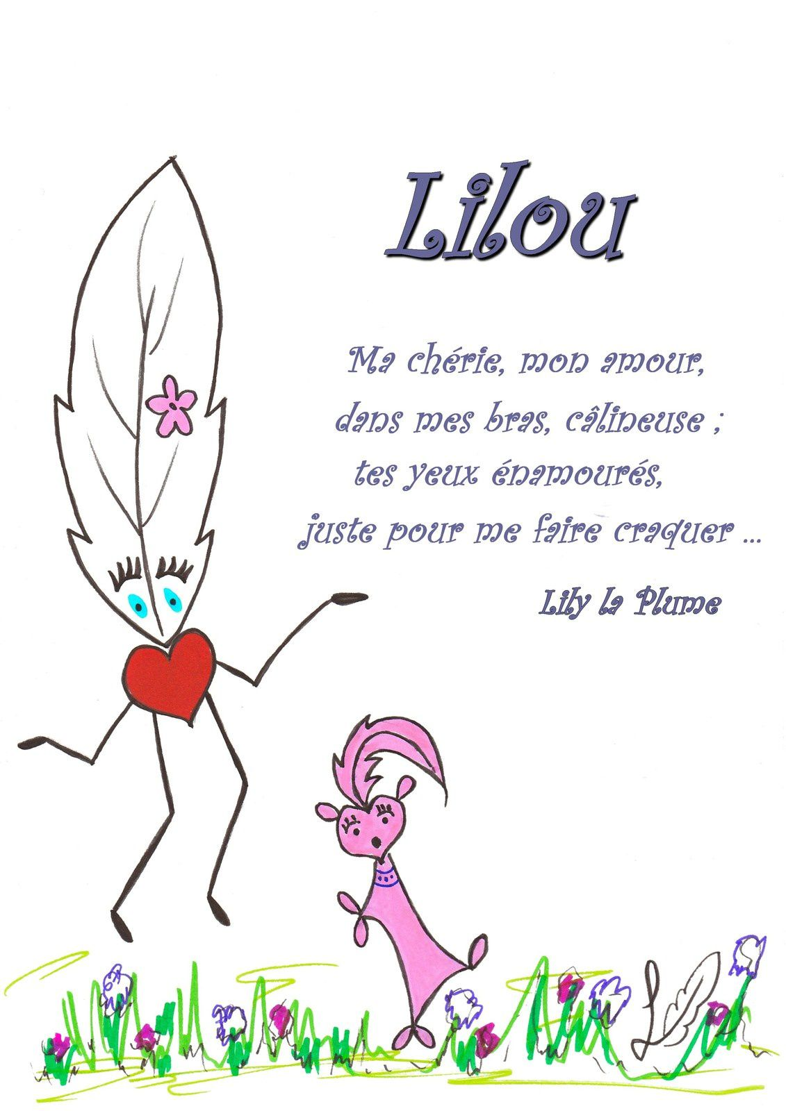Lily la Plume et Lilou     #lilylaplume