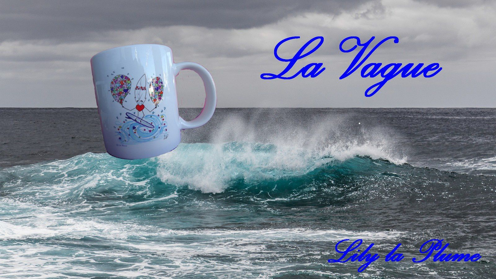 Heureux ... La Vague