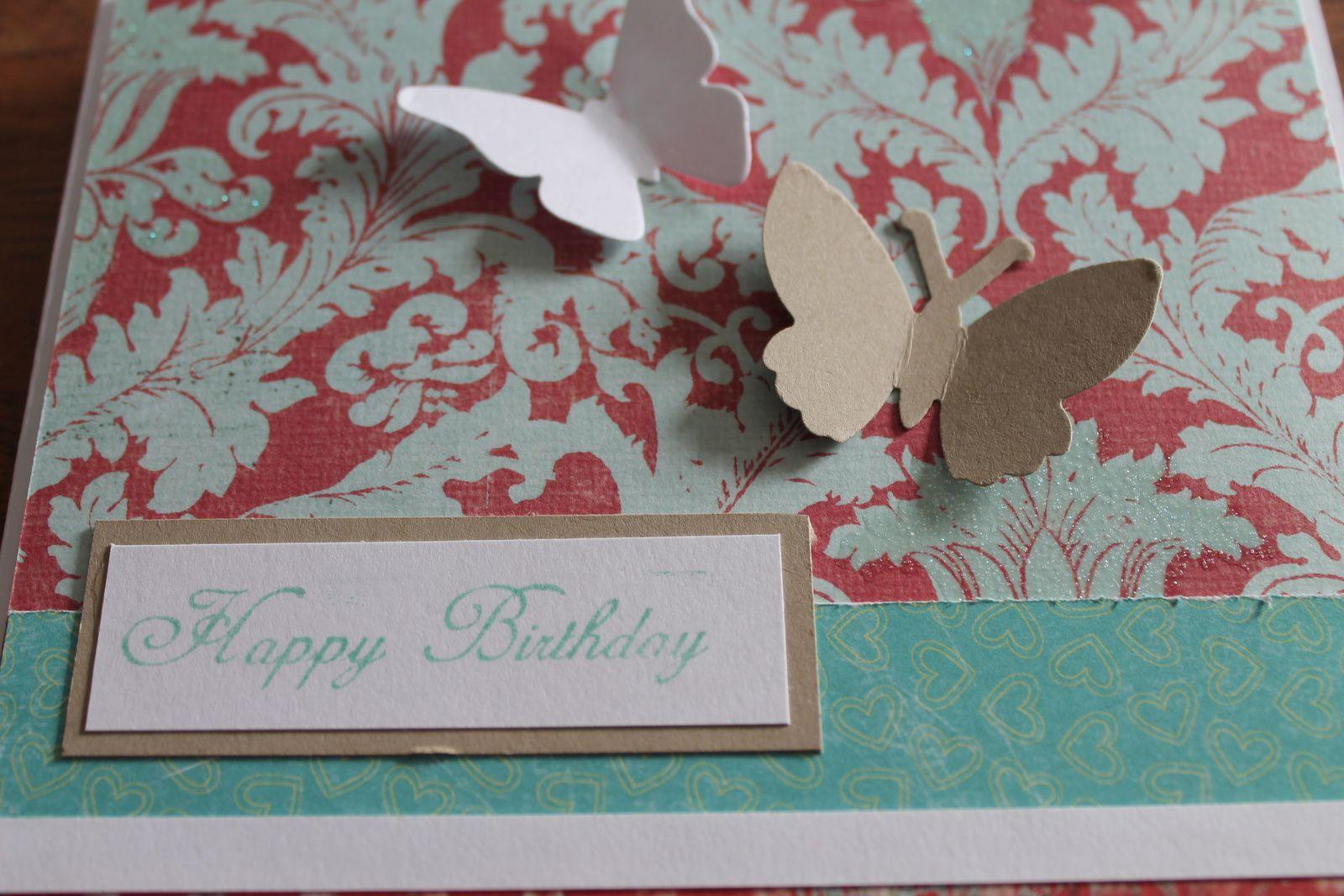 Une carte d'anniversaire...