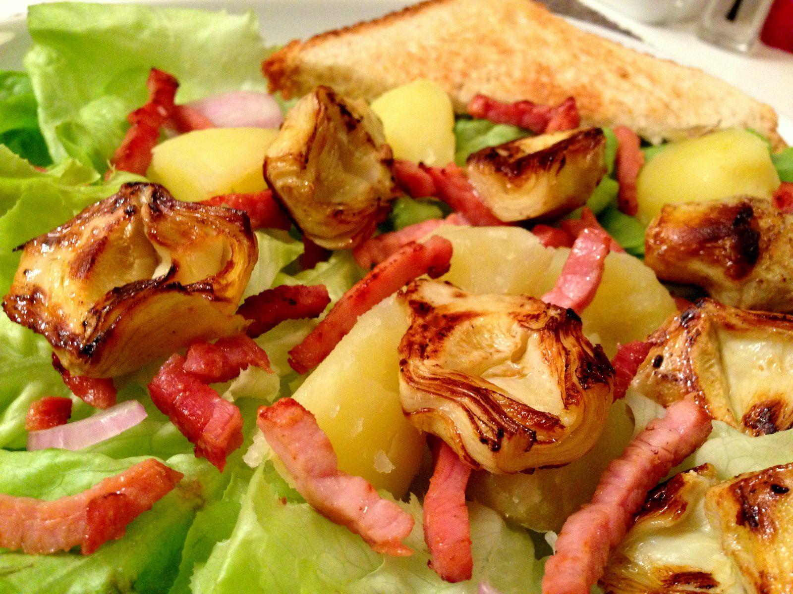 Salade de coeurs d'artichauts