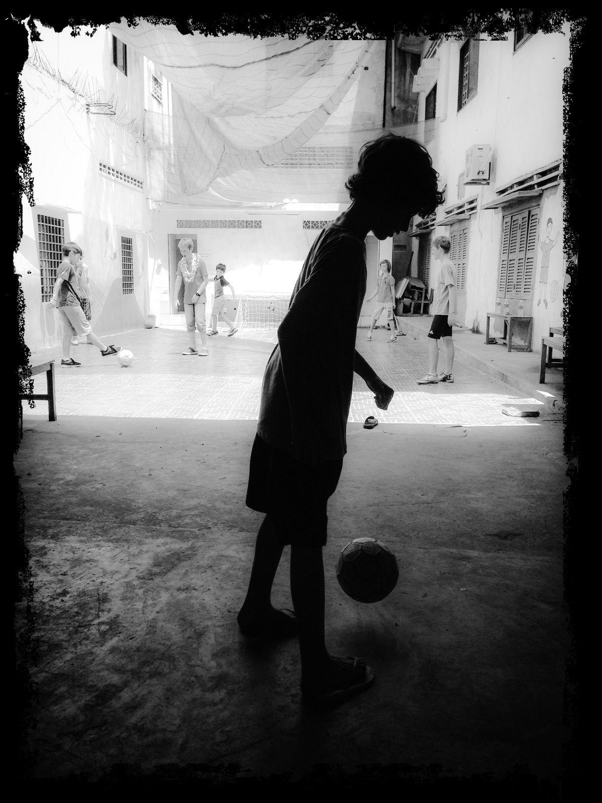 Un Tournoi de Foot au Cambodge...