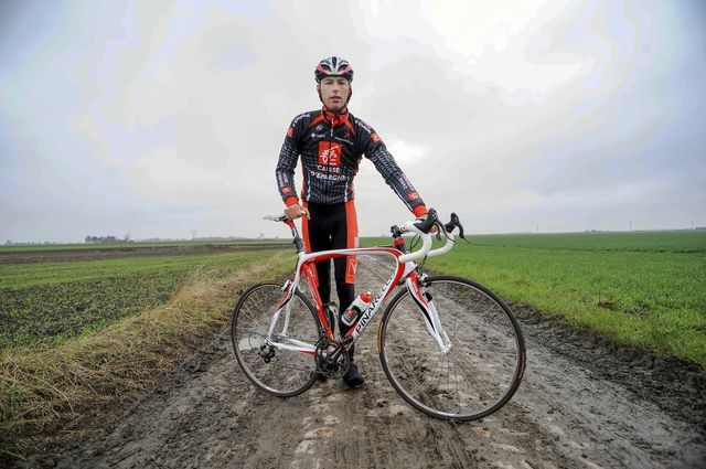 Photo symbolisant son attachement à Paris Roubaix.