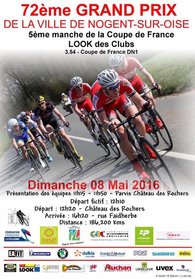Prix de la ville de Nogent sur Oise  Cyclo Club de Nogent Sur Oise