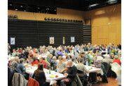 Les 175 convives du repas de l'ASIB