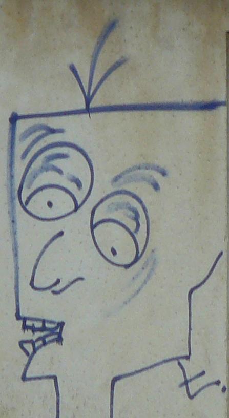 Une caricature de Gaston Floquet ?