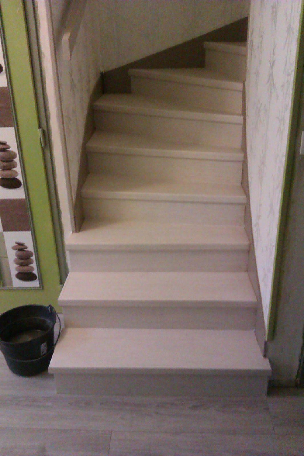 habillage escalier br menuiserie With habillage escalier parquet