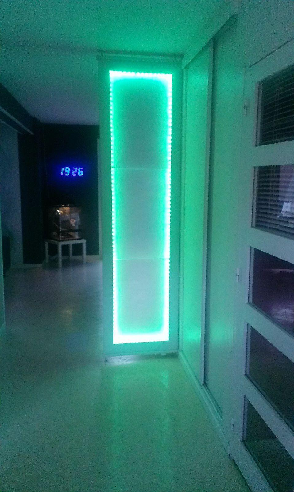 cloison amovible lumineuse b r menuiserie. Black Bedroom Furniture Sets. Home Design Ideas