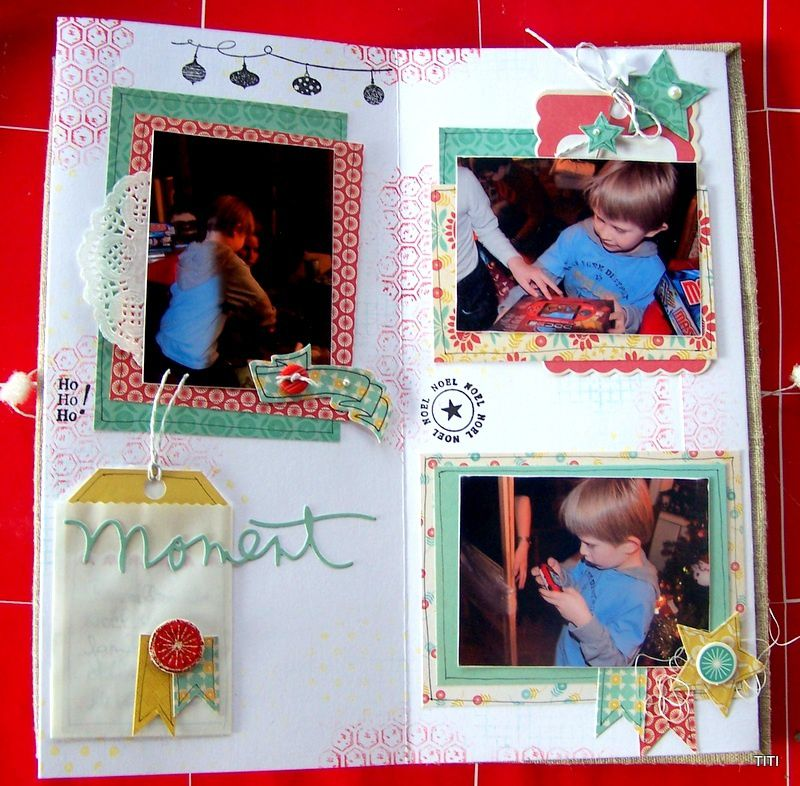 mini album Noël