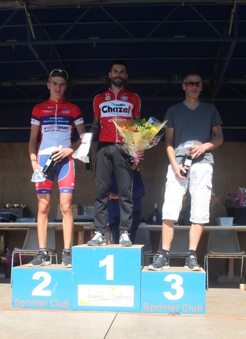 Le podium passcyclisme