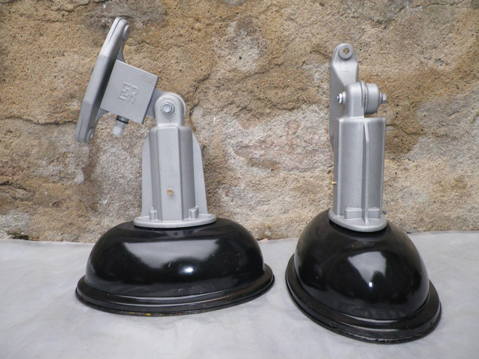 brocINDUS Lampe industrielle suspension d atelier lampe d usine ancien luminaire industriel