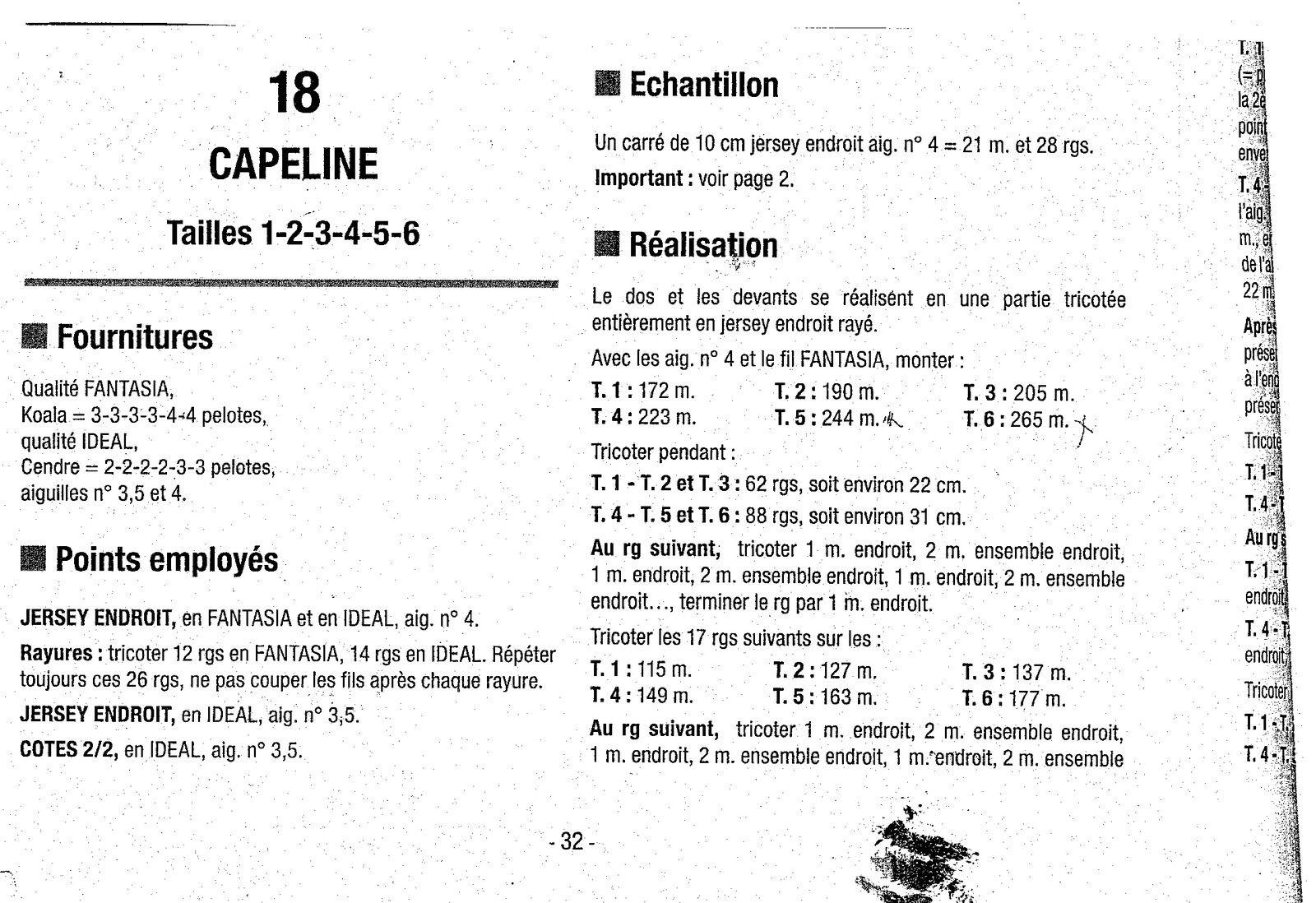 Explication Capeline fantasia BDF