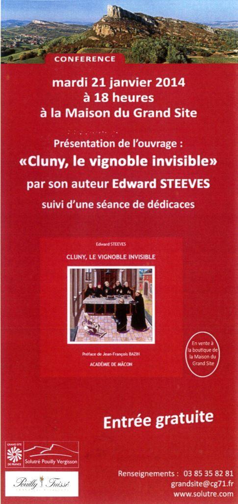 « Cluny, vignoble invisible »