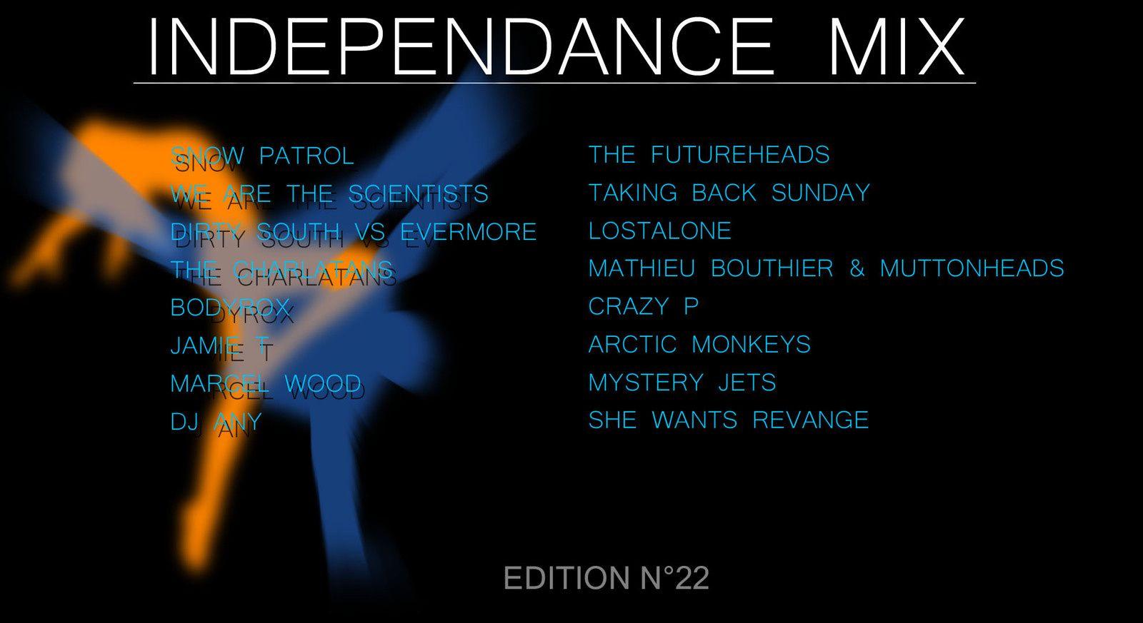 INDEPENDANCE MIX - Vidéoliste n°22
