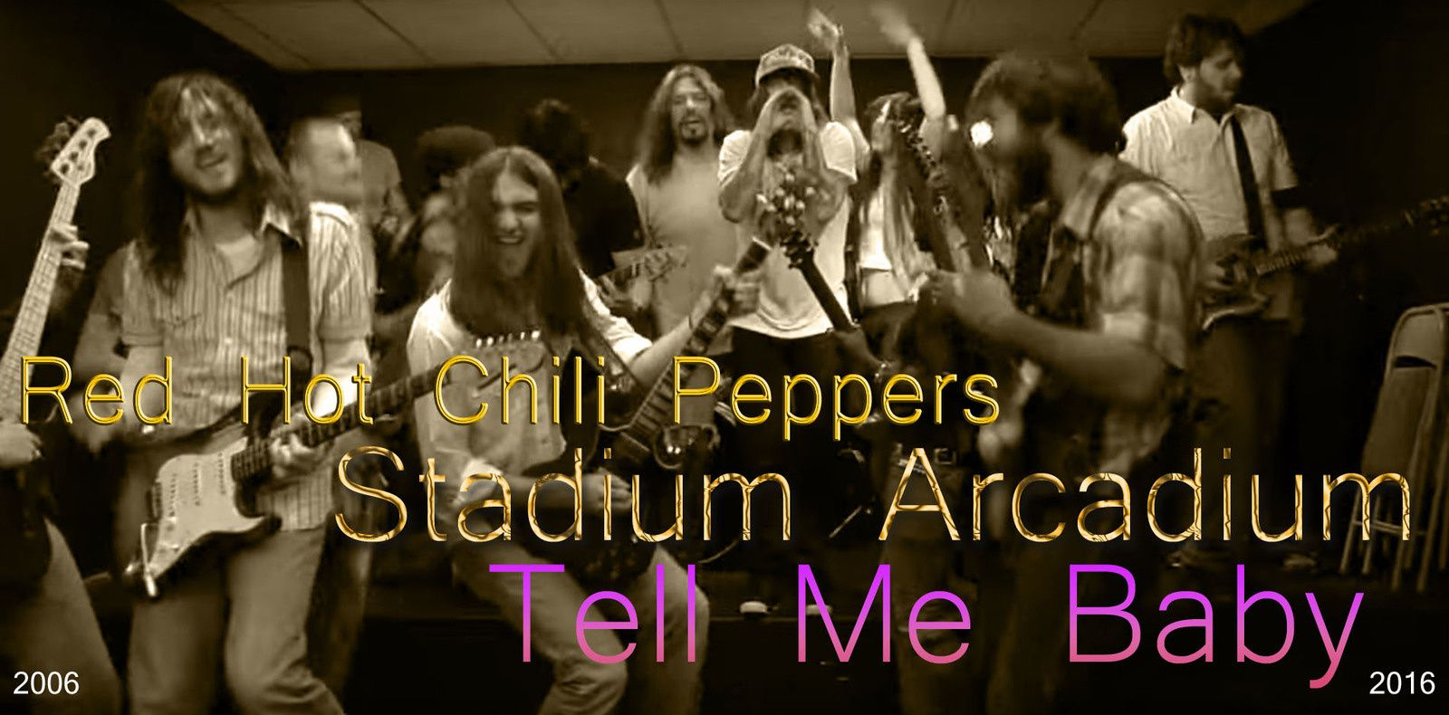 Red Hot Chili Peppers - Tell Me Baby