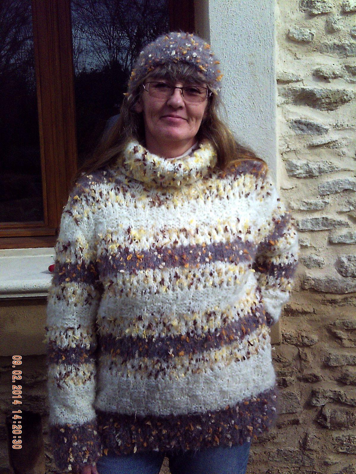Bonnet Femme Tricot Crochet