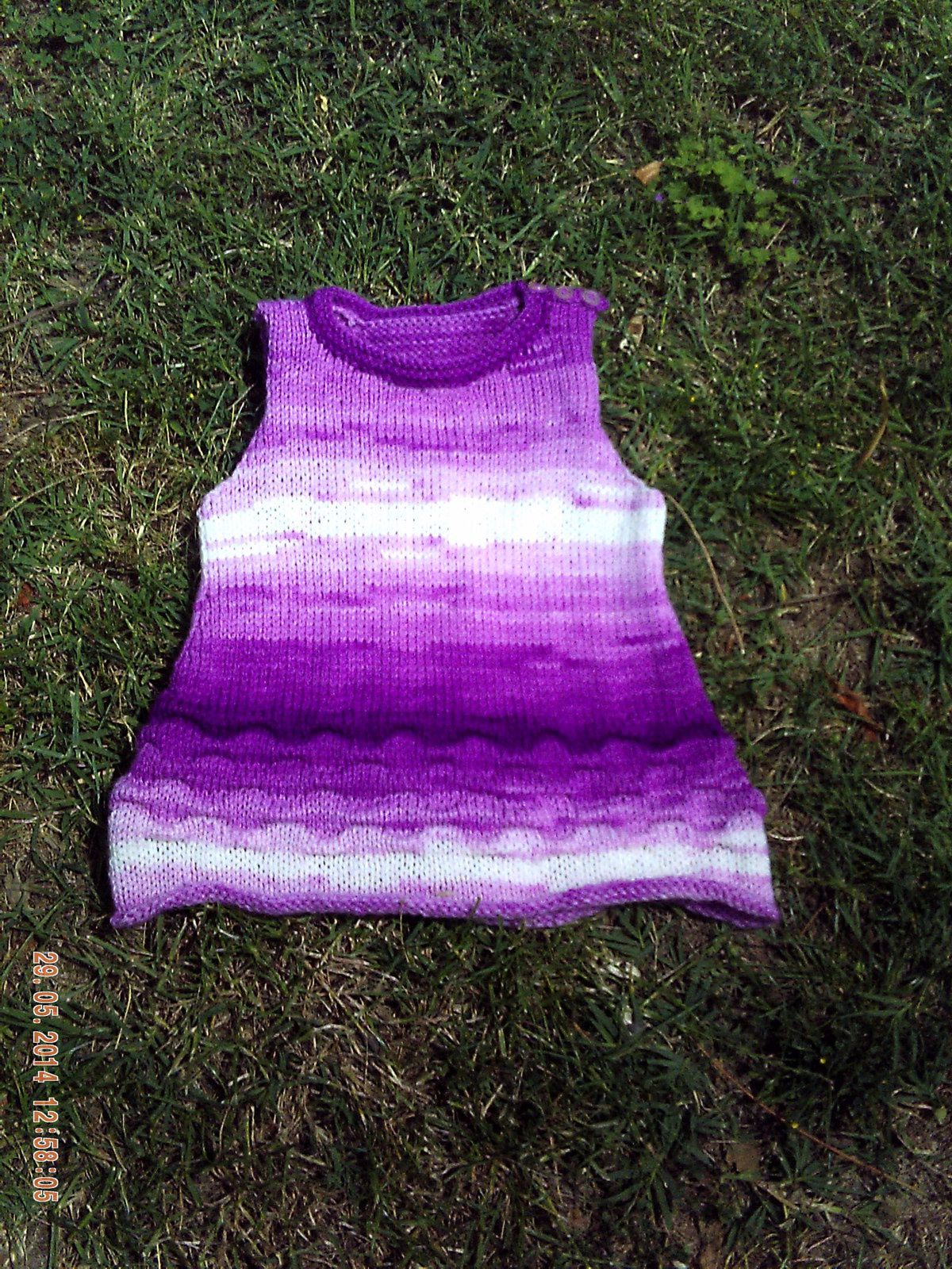TUTO ROBE BB EVOLUTIVE AU TRICOT...