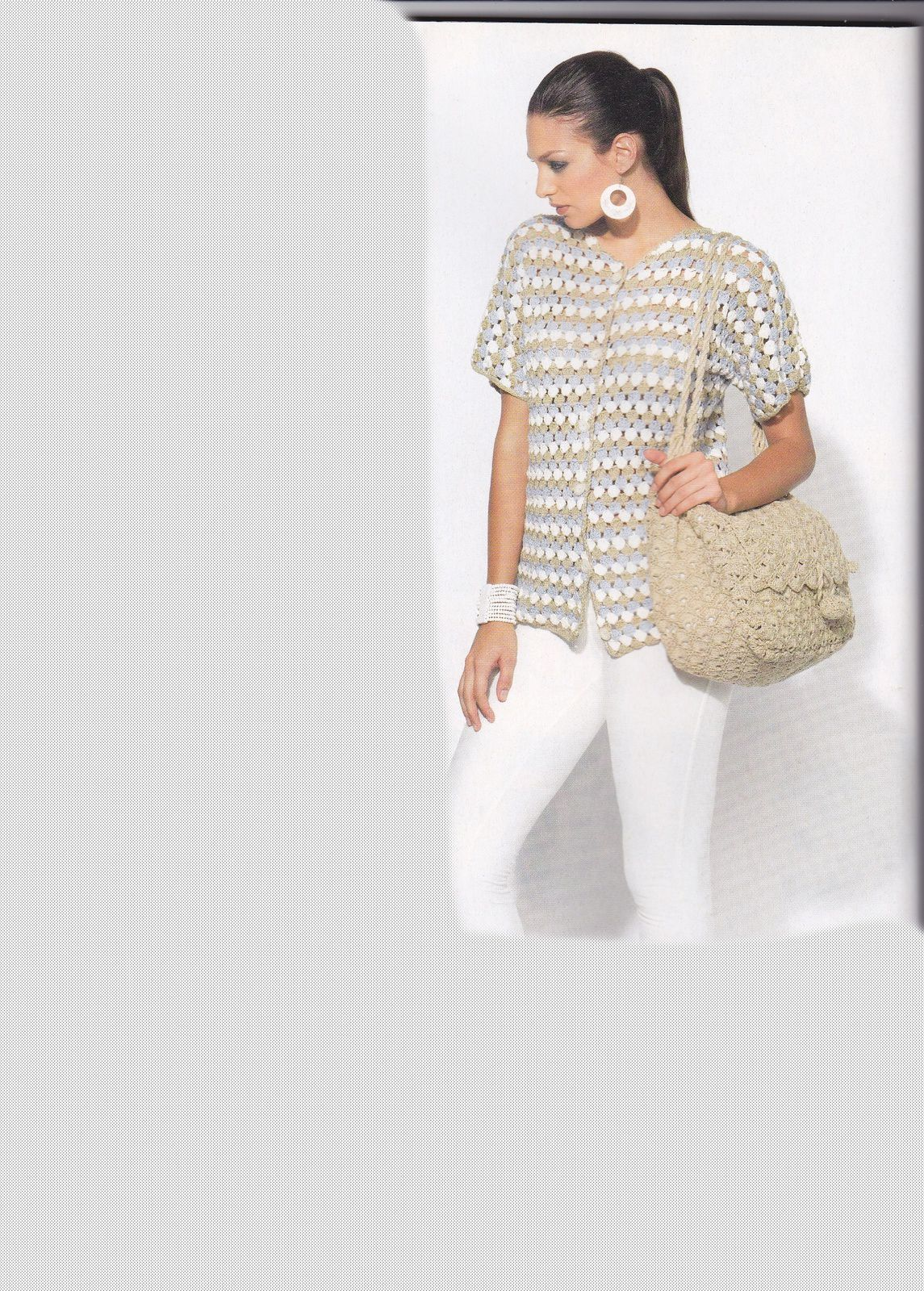 Modèle Gratuit Gilet Femme Au Crochettuto Explications