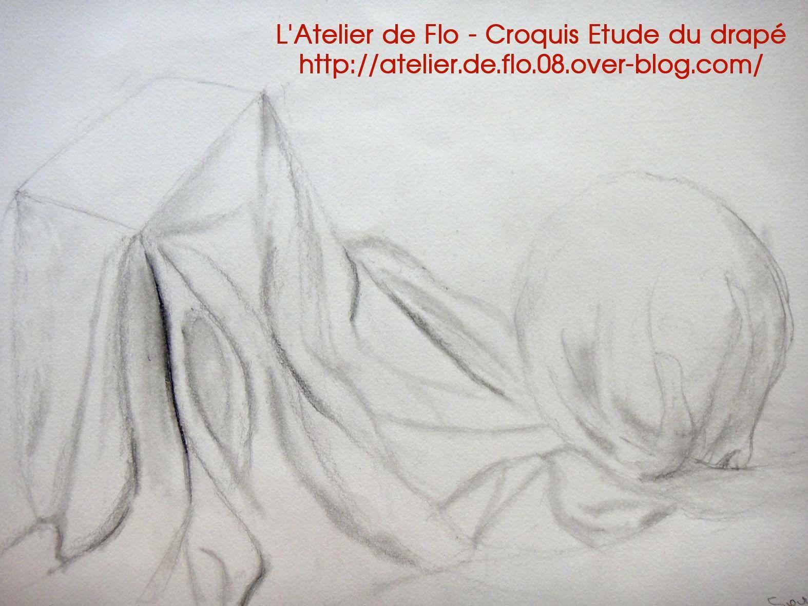 Dessins fusains et crayons des artistes de l'atelier croquis