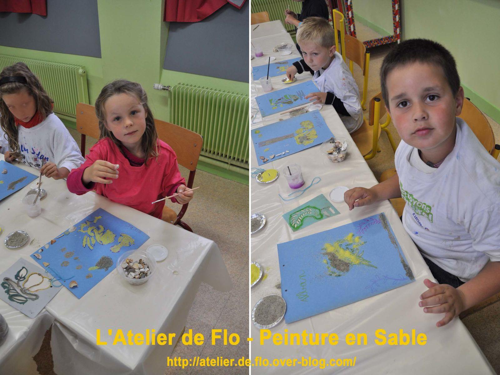 """Les """"artistes"""" à l'oeuvre !"""