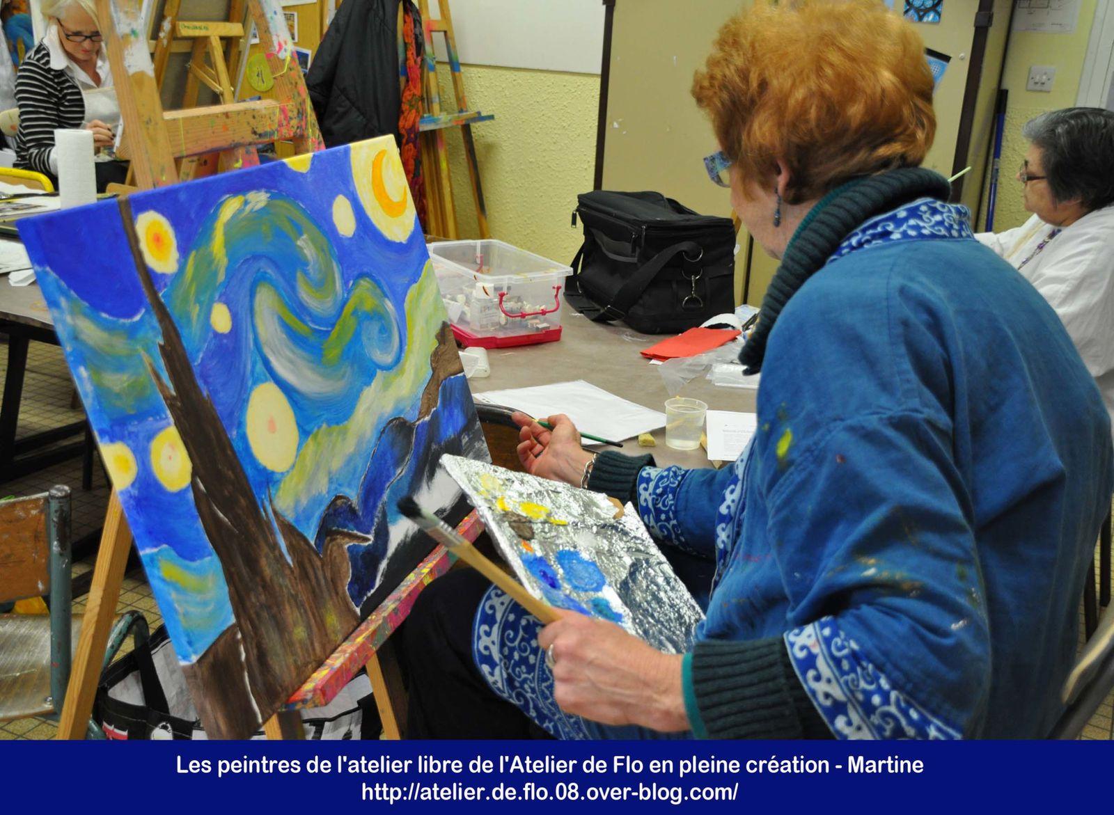 Les peintres de l'atelier Libre de Flo