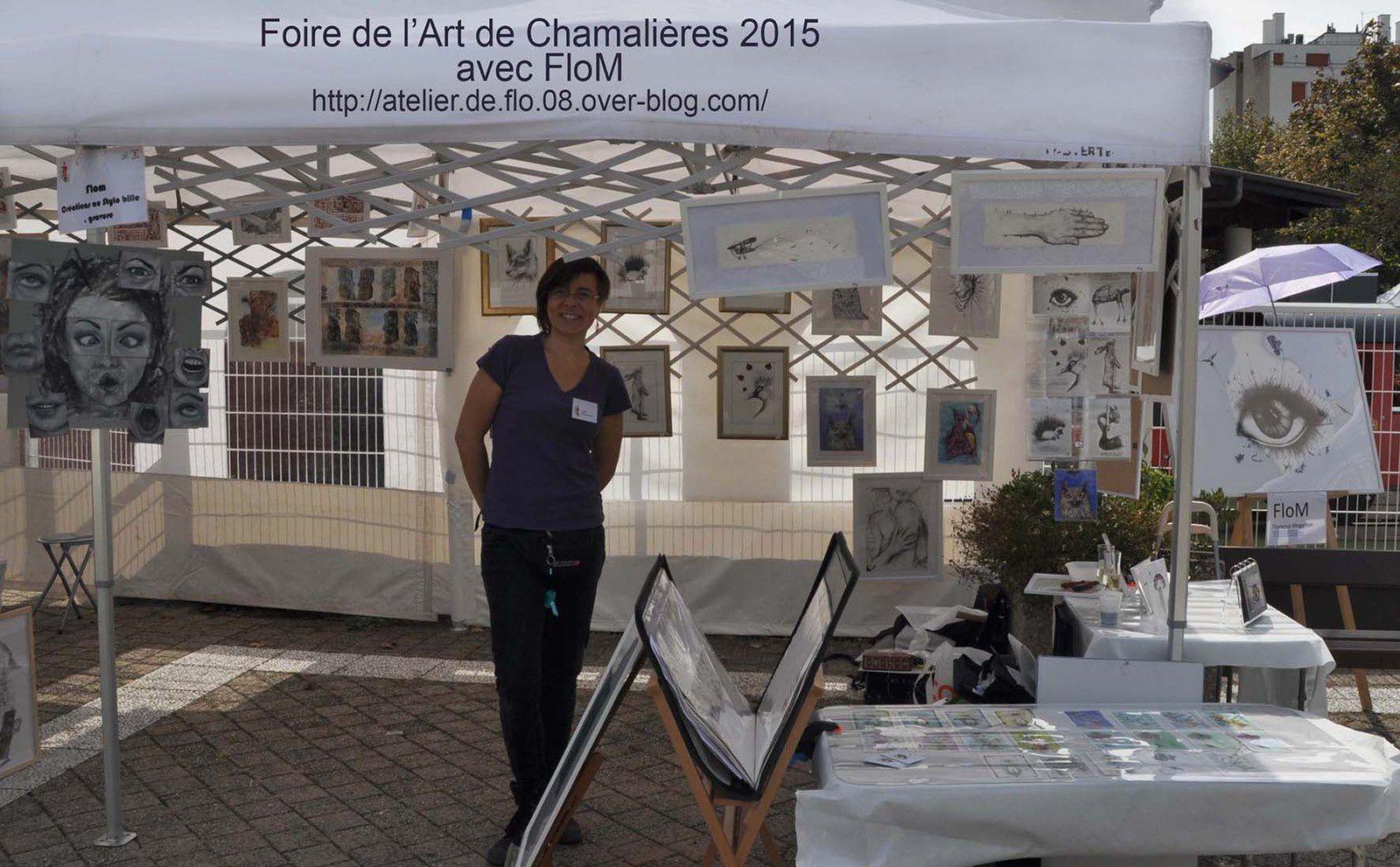 Stylo et soleil à Chamalières