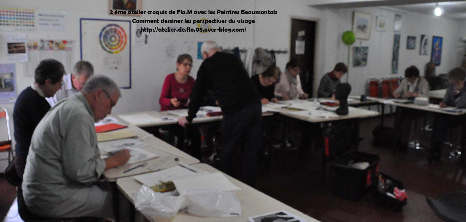 Le 2ème groupe de l'Association des Peintres Beaumontois