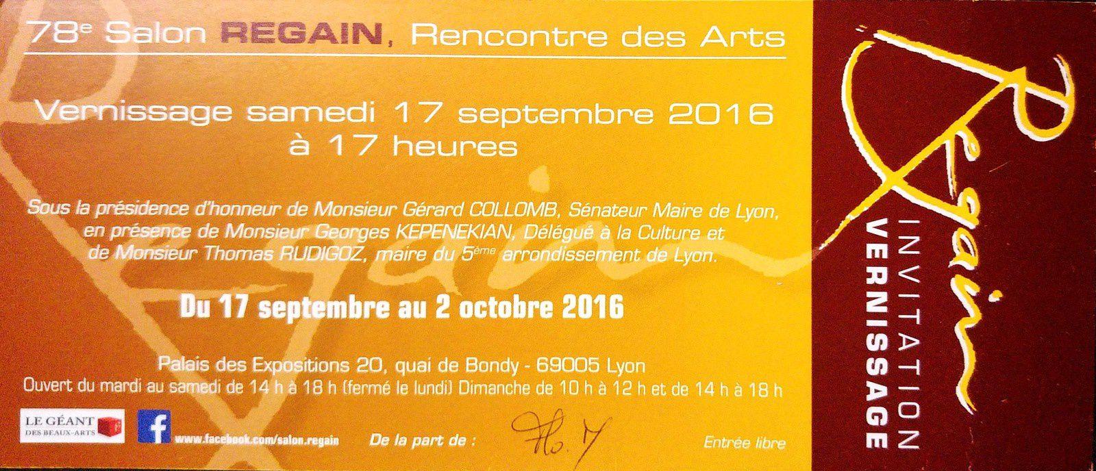 Vernissage du salon regain lyon l 39 atelier de flo m for Salon du chat lyon