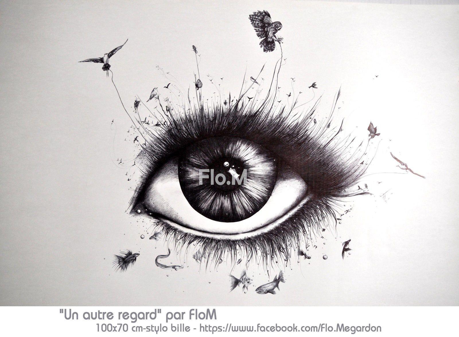 Posters des dessins au stylo bille de Flo.M. Pour commander, contactez: flo.plasticienne@gmail.com