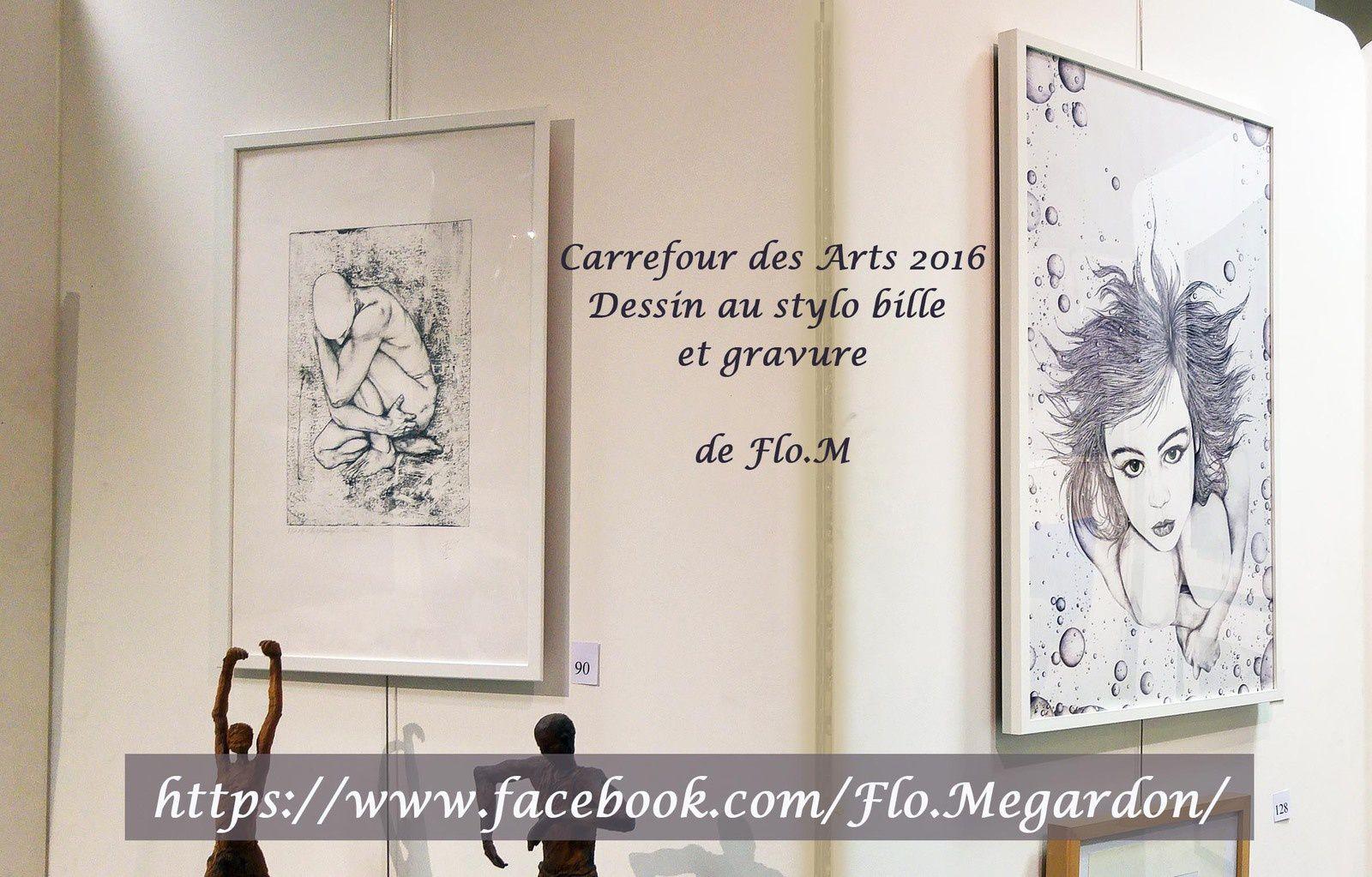 Salon Carrefour Europe 2016 de Chamalières avec Flo.M