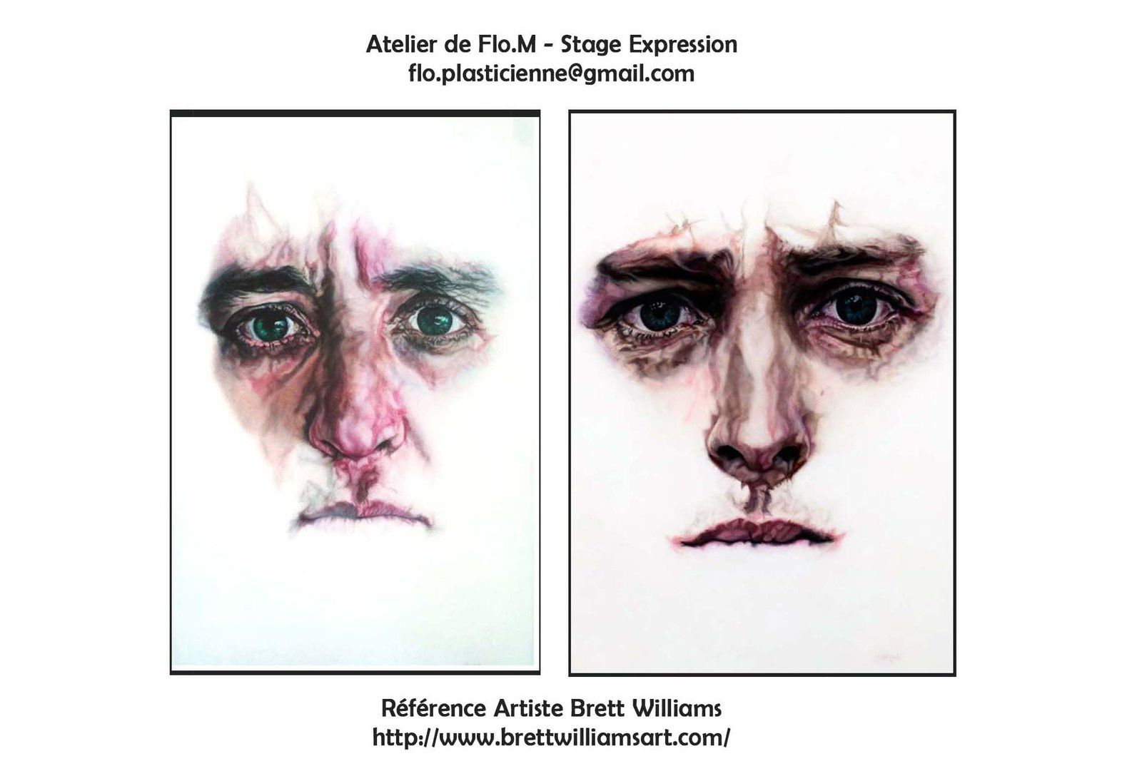Artiste Brett Williams - Stage expressions avec Flo.M