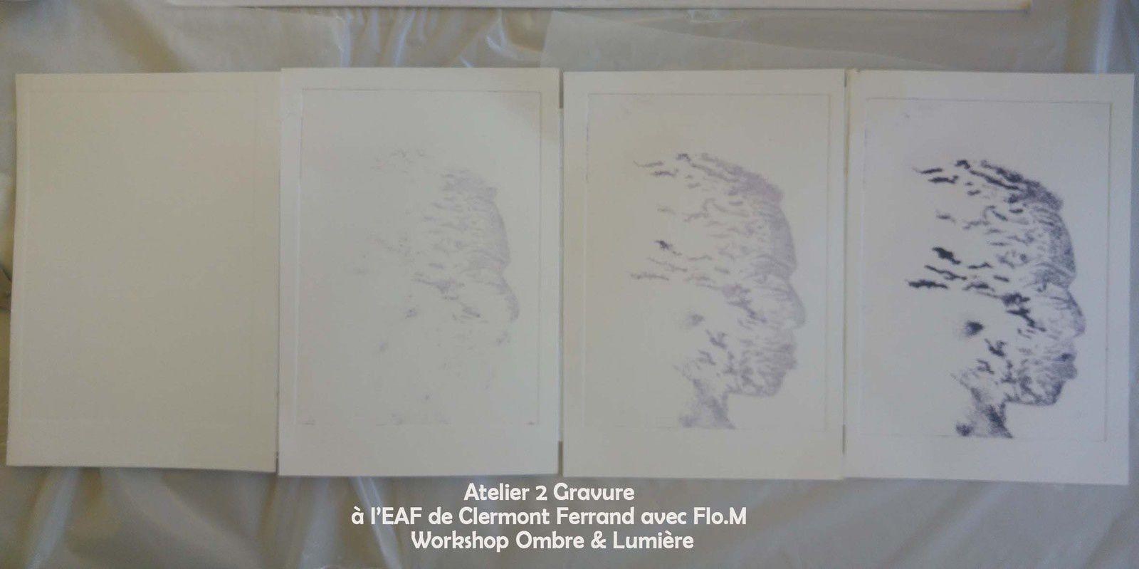 Les estampes des étudiants de l'EAF