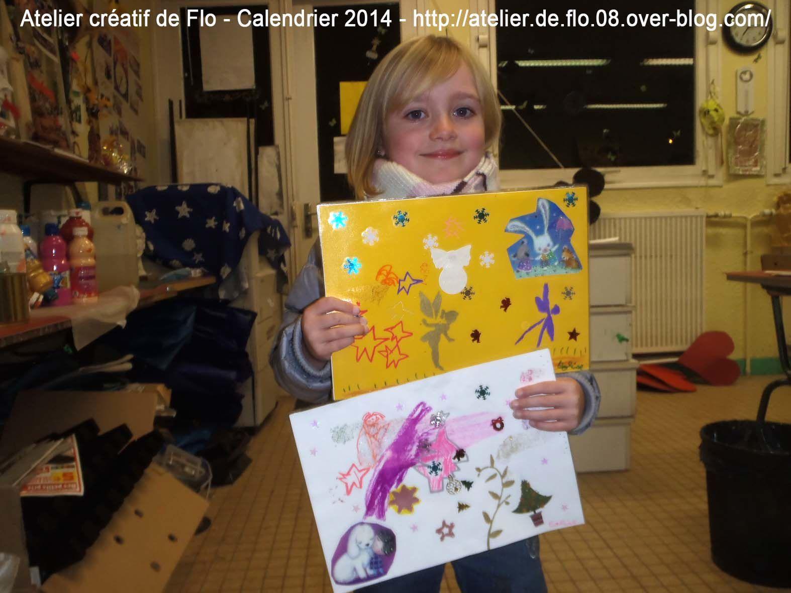 Les jeunes artistes et leurs calendriers