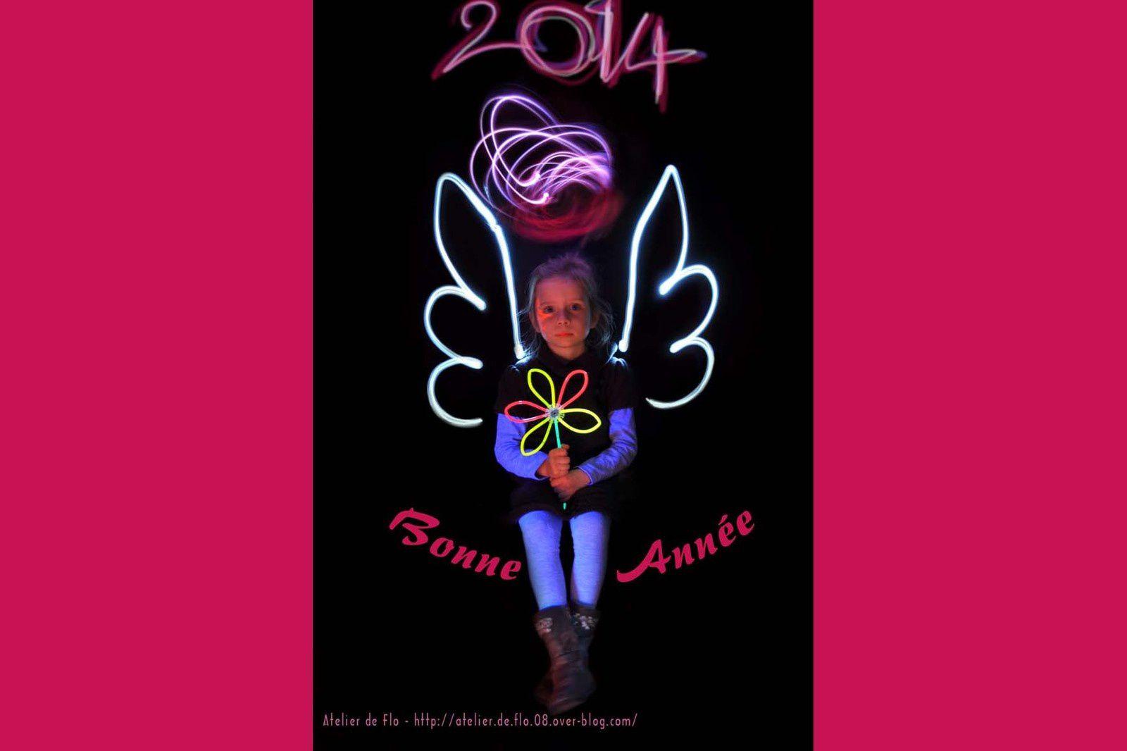 Les peintres de la lumière vous souhaitent une bonne année 2014 !