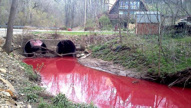 Et le tiers de la mer devint rouge sang...