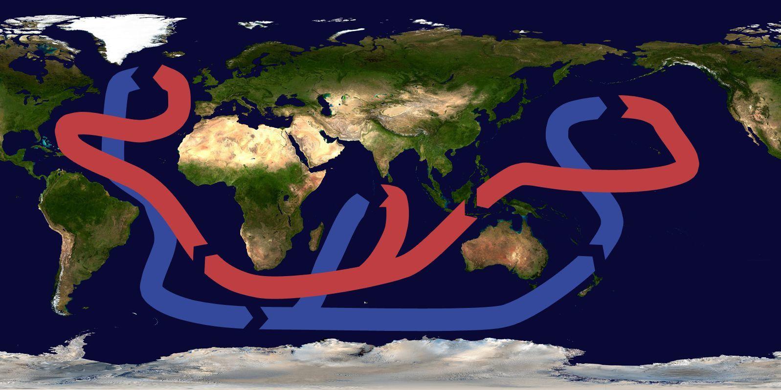 La grande arnaque du rechauffement climatique le Gulf Stream