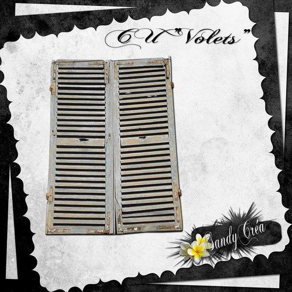 CU FREEBIE Volets by SandyCréa