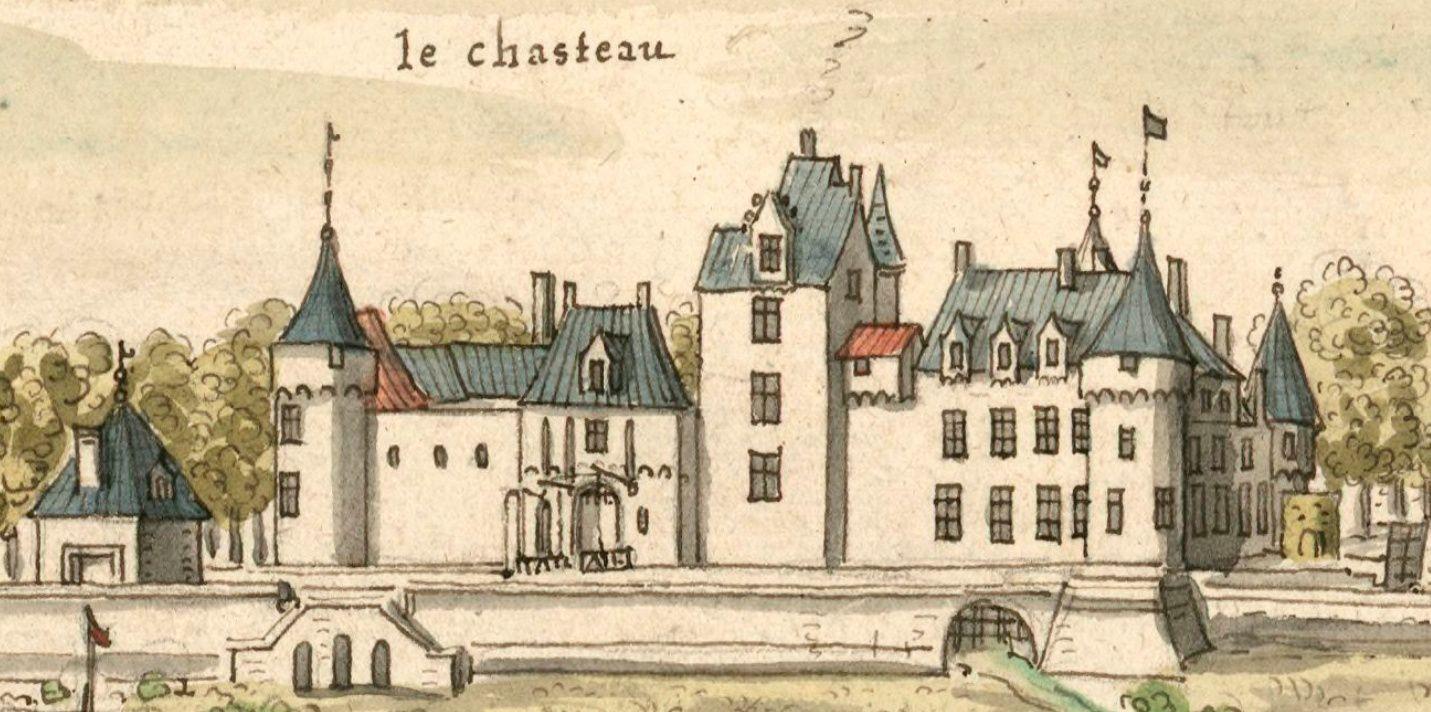 Quelques images du château de Malicorne en 1695